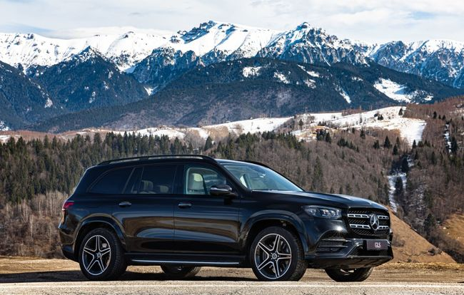 Test drive Mercedes-Benz GLS
