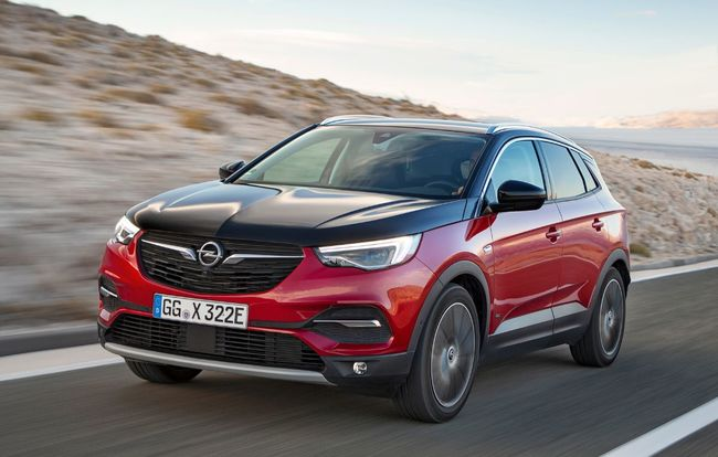 Test drive Opel Grandland X