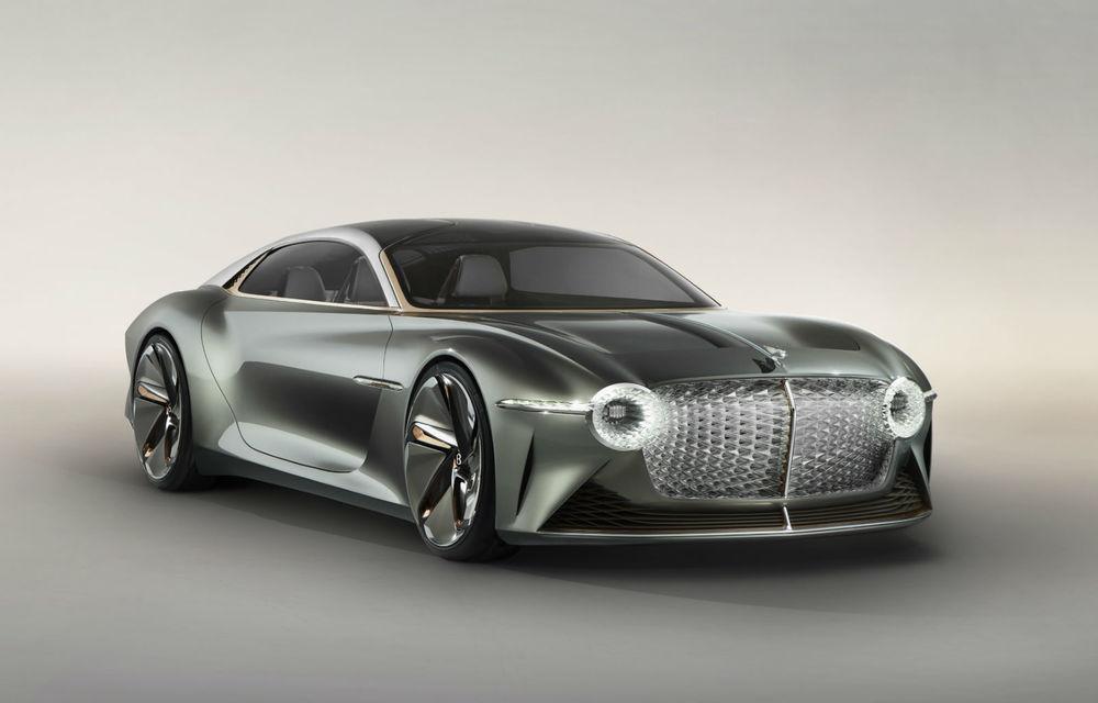"""Bentley anunță că primul său model electric va avea un design """"curajos"""": lansare programată până în 2025 - Poza 1"""