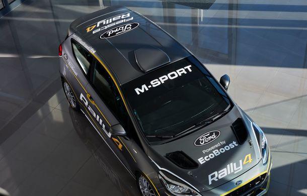Prima imagine cu noul Ford Fiesta Rally 4: modelul destinat raliurilor dezvoltă 213 CP și va fi disponibil pentru comandă începând cu 1 aprilie - Poza 2