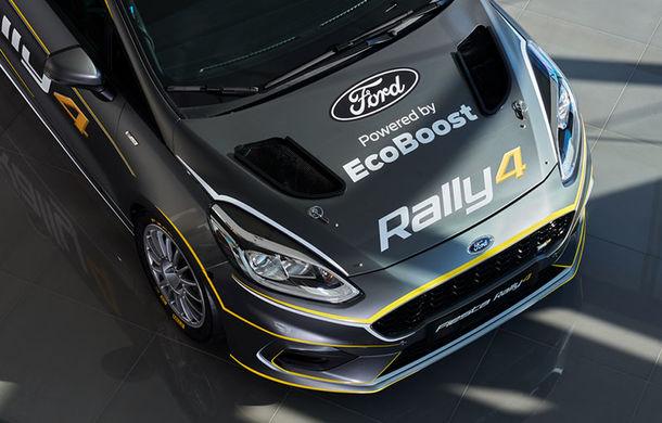 Prima imagine cu noul Ford Fiesta Rally 4: modelul destinat raliurilor dezvoltă 213 CP și va fi disponibil pentru comandă începând cu 1 aprilie - Poza 1