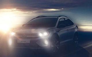 Teaser nou cu viitorul Volkswagen Nivus: SUV-ul coupe bazat pe T-Cross ajunge în Europa în 2021