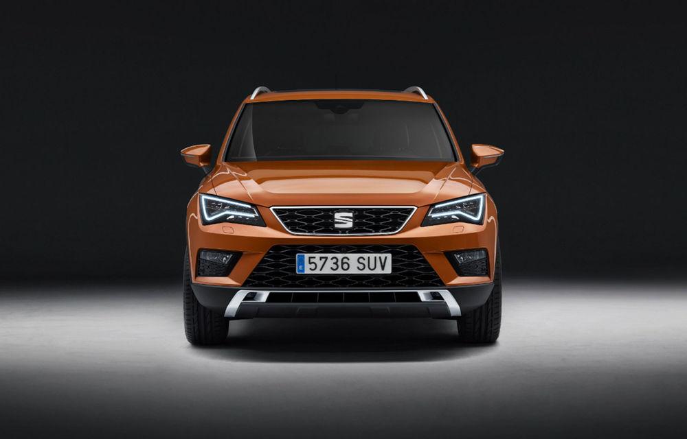 Seat pregătește un facelift pentru Ateca: modificări estetice minore și motorizări mild-hybrid și plug-in hybrid - Poza 1