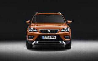 Seat pregătește un facelift pentru Ateca: modificări estetice minore și motorizări mild-hybrid și plug-in hybrid