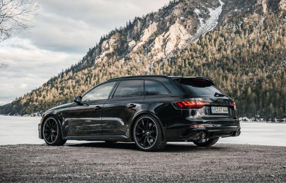 Modificări pentru Audi RS4 Avant facelift din partea ABT: motorul V6 biturbo dezvoltă acum 530 CP și 680 Nm - Poza 2