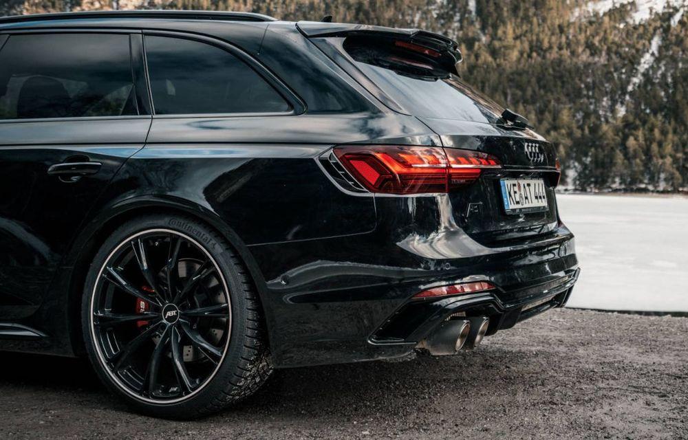 Modificări pentru Audi RS4 Avant facelift din partea ABT: motorul V6 biturbo dezvoltă acum 530 CP și 680 Nm - Poza 4