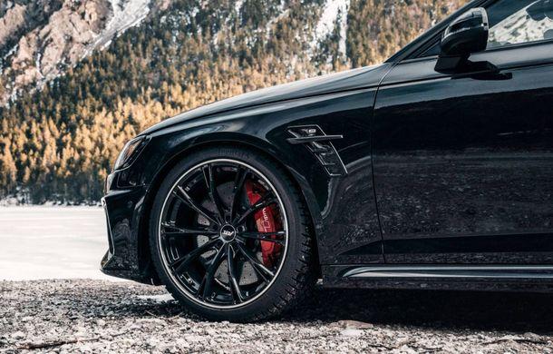 Modificări pentru Audi RS4 Avant facelift din partea ABT: motorul V6 biturbo dezvoltă acum 530 CP și 680 Nm - Poza 3