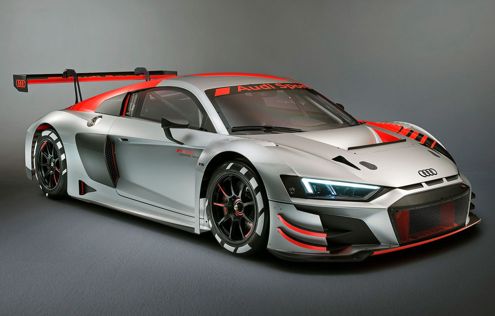 Audi a înregistrat denumirea R8 Green Hell: nemții ar putea lansa o versiune de stradă inspirată de actualul model de circuit R8 LMS GT3 - Poza 1