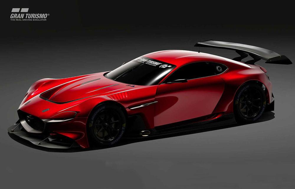 Mazda RX-Vision GT3 Concept, prototip virtual pentru fanii jocului video Gran Turismo Sport: conceptul niponilor va fi disponibil începând cu luna mai - Poza 1