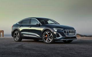 Prețuri pentru noul Audi e-tron Sportback: SUV-ul coupe pornește de la aproape 73.000 de euro