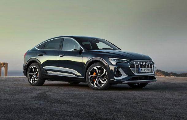 Prețuri pentru noul Audi e-tron Sportback: SUV-ul coupe pornește de la aproape 73.000 de euro - Poza 1