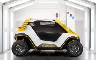 Studenții de la Institutul European de Design au prezentat conceptul elecric Tracy: mobilitate off-road pentru 6 persoane