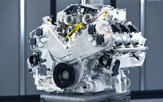 Primele informații despre noul motor pregătit de Aston Martin pentru viitorul Valhalla: hypercar-ul va avea un sistem de propulsie electrificat bazat pe un V6 de 3.0 litri