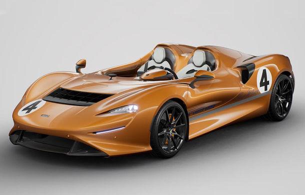 McLaren Elva a primit un pachet special din partea MSO: omagiu adus modelului de competiții McLaren M6A - Poza 1