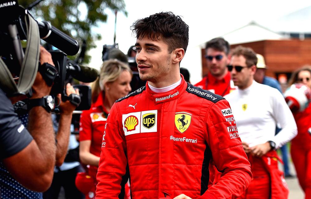 """Leclerc anticipează o nouă luptă echilibrată cu Vettel: """"Lipsa unui contract pentru sezonul 2021 nu îl va destabiliza"""" - Poza 1"""