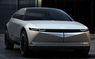 Informații despre versiunea de serie a conceptului electric Hyundai 45: va utiliza o platformă dedicată și va avea tracțiune integrală