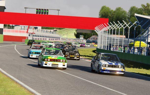 Etapele de sim racing din cadrul Racing League Romania vor beneficia de transmisiune televizată: etapa a treia se va desfășura pe circuitul de la Imola - Poza 4