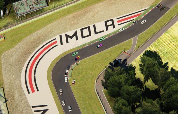 Etapele de sim racing din cadrul Racing League Romania vor beneficia de transmisiune televizată: etapa a treia se va desfășura pe circuitul de la Imola - Poza 6