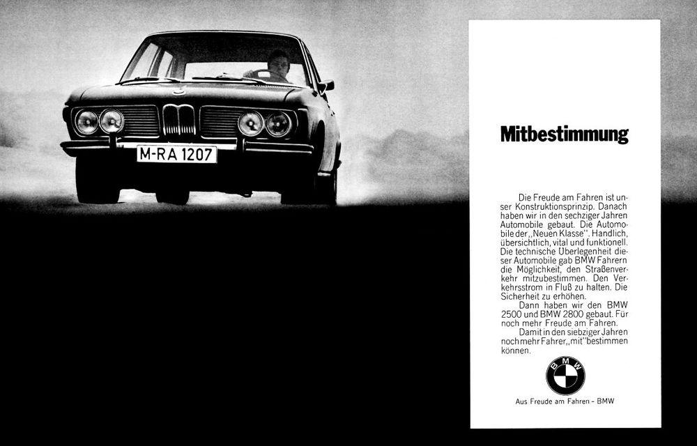 """Sloganul """"Plăcerea de a conduce"""" împlinește 55 de ani: sintagma care definește esența mărcii BMW a fost adoptată oficial în 1965 - Poza 5"""