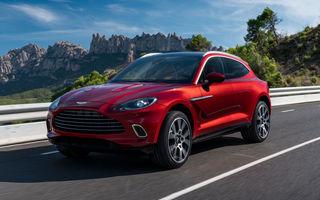 Aston Martin a obținut finanțare pentru producția SUV-ului DBX: bani și pentru intrarea în Formula 1 în 2021