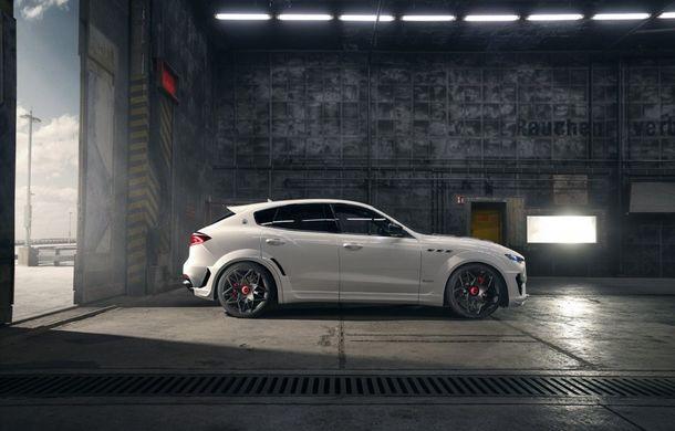 Maserati Levante Trofeo, preparat de Novitec: 624 CP și 820 Nm pentru SUV-ul italian - Poza 5
