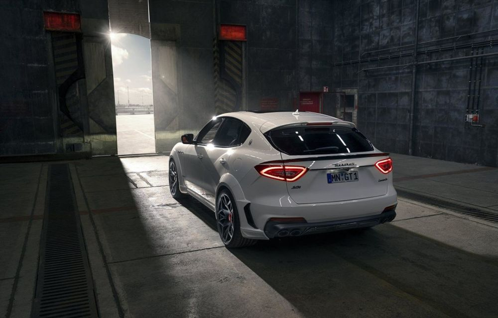 Maserati Levante Trofeo, preparat de Novitec: 624 CP și 820 Nm pentru SUV-ul italian - Poza 4