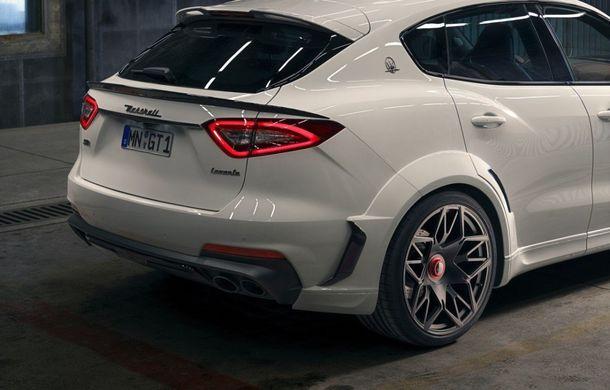 Maserati Levante Trofeo, preparat de Novitec: 624 CP și 820 Nm pentru SUV-ul italian - Poza 9