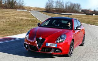 Alfa Romeo va elimina Giulietta din gamă în acest an: modelul va fi înlocuit de viitorul SUV Tonale