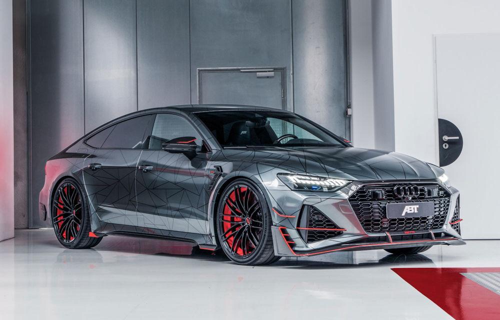 Tuning pentru Audi RS7 Sportback din partea ABT: 740 CP și accelerație 0-100 km/h în doar 3.2 secunde - Poza 1