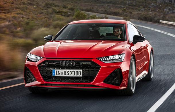 Audi RS7 Sportback este disponibil și în România: modelul de performanță cu 600 CP are un preț de pornire de aproape 125.000 de euro - Poza 1