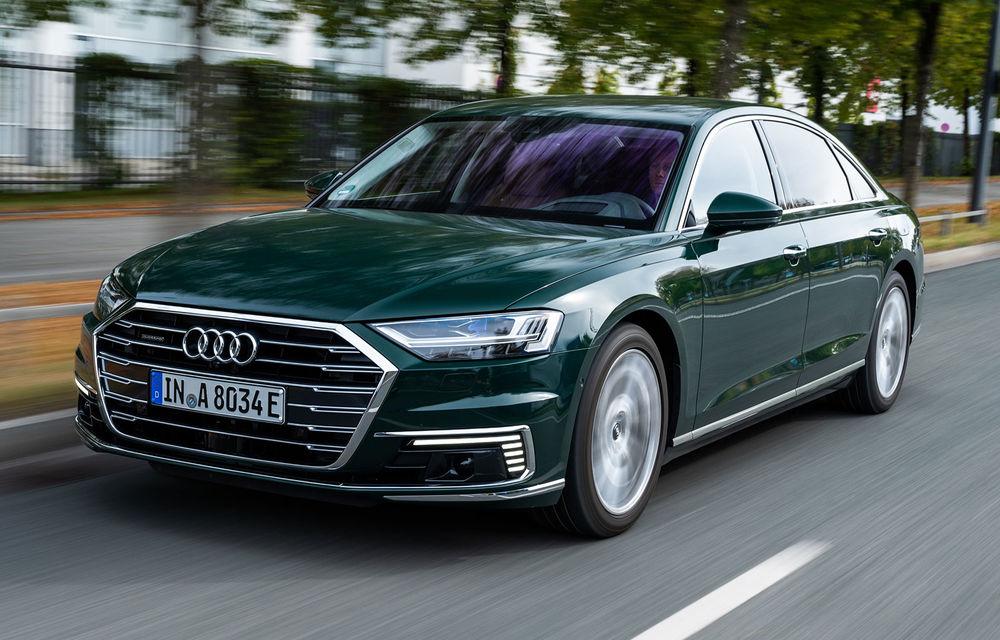 Viitorul Audi A8 nu va avea versiune electrică: nemții vor îmbunătăți varianta plug-in hybrid - Poza 1