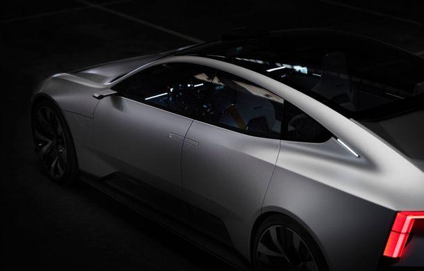 """Imagini noi cu Polestar Precept: """"Conceptul anticipează direcția de design pentru viitoarele modele ale mărcii"""" - Poza 14"""