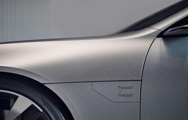 """Imagini noi cu Polestar Precept: """"Conceptul anticipează direcția de design pentru viitoarele modele ale mărcii"""" - Poza 20"""