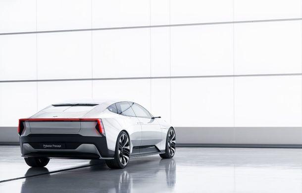 """Imagini noi cu Polestar Precept: """"Conceptul anticipează direcția de design pentru viitoarele modele ale mărcii"""" - Poza 34"""