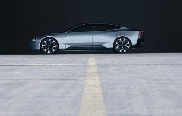 """Imagini noi cu Polestar Precept: """"Conceptul anticipează direcția de design pentru viitoarele modele ale mărcii"""" - Poza 30"""