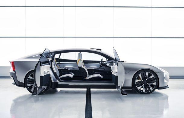 """Imagini noi cu Polestar Precept: """"Conceptul anticipează direcția de design pentru viitoarele modele ale mărcii"""" - Poza 36"""