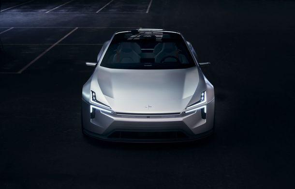 """Imagini noi cu Polestar Precept: """"Conceptul anticipează direcția de design pentru viitoarele modele ale mărcii"""" - Poza 9"""