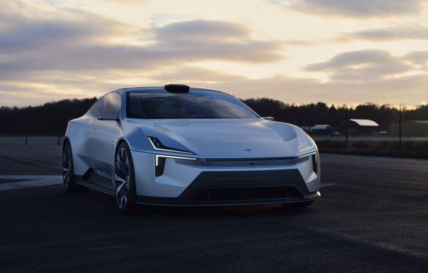 """Imagini noi cu Polestar Precept: """"Conceptul anticipează direcția de design pentru viitoarele modele ale mărcii"""" - Poza 6"""