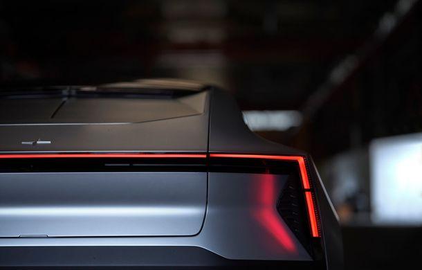 """Imagini noi cu Polestar Precept: """"Conceptul anticipează direcția de design pentru viitoarele modele ale mărcii"""" - Poza 10"""