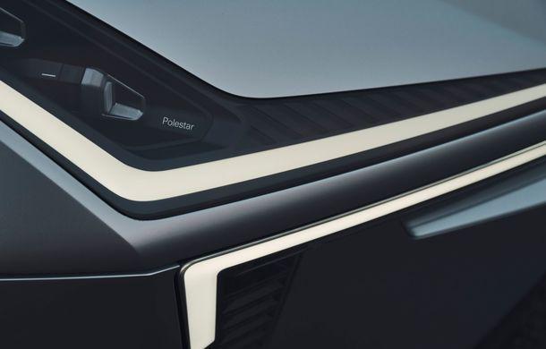 """Imagini noi cu Polestar Precept: """"Conceptul anticipează direcția de design pentru viitoarele modele ale mărcii"""" - Poza 15"""