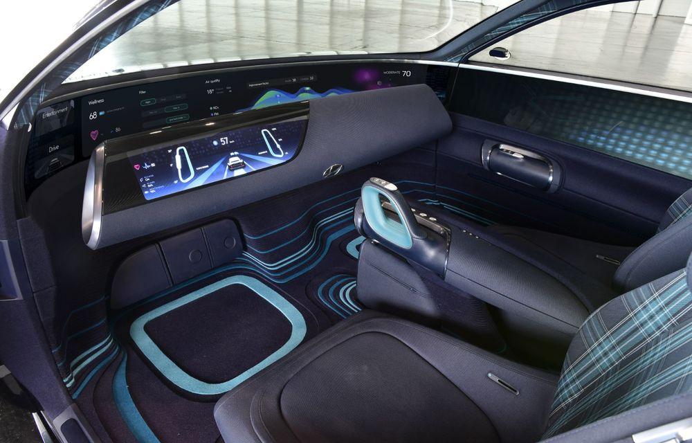 Informații noi despre conceptul Hyundai Prophecy: sistem special pentru purificarea aerului și tehnologie inteligentă pentru stabilirea poziției de conducere - Poza 11