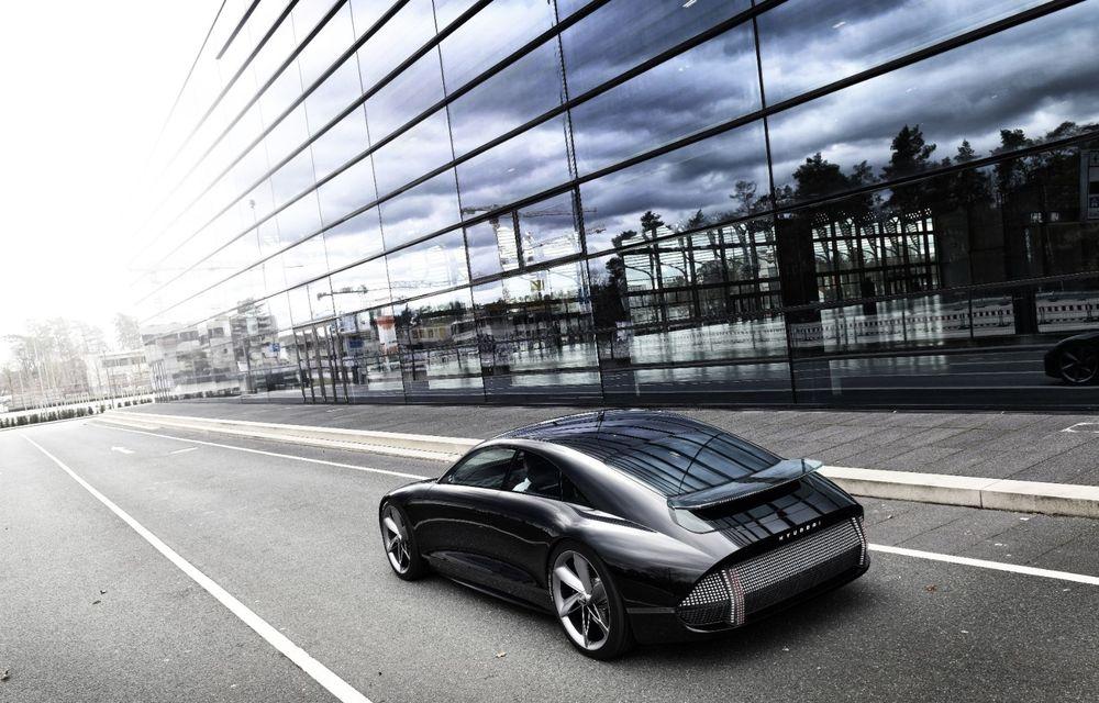 Informații noi despre conceptul Hyundai Prophecy: sistem special pentru purificarea aerului și tehnologie inteligentă pentru stabilirea poziției de conducere - Poza 6