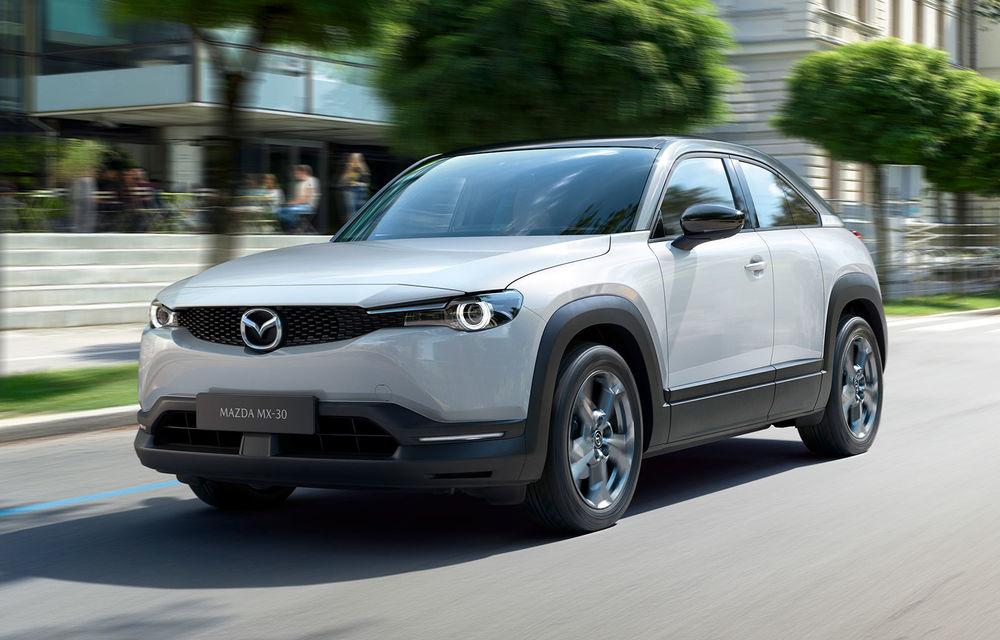 Mazda propune trei versiuni de echipare pentru MX-30: în România, SUV-ul electric pleacă de la aproape 33.500 de euro - Poza 1