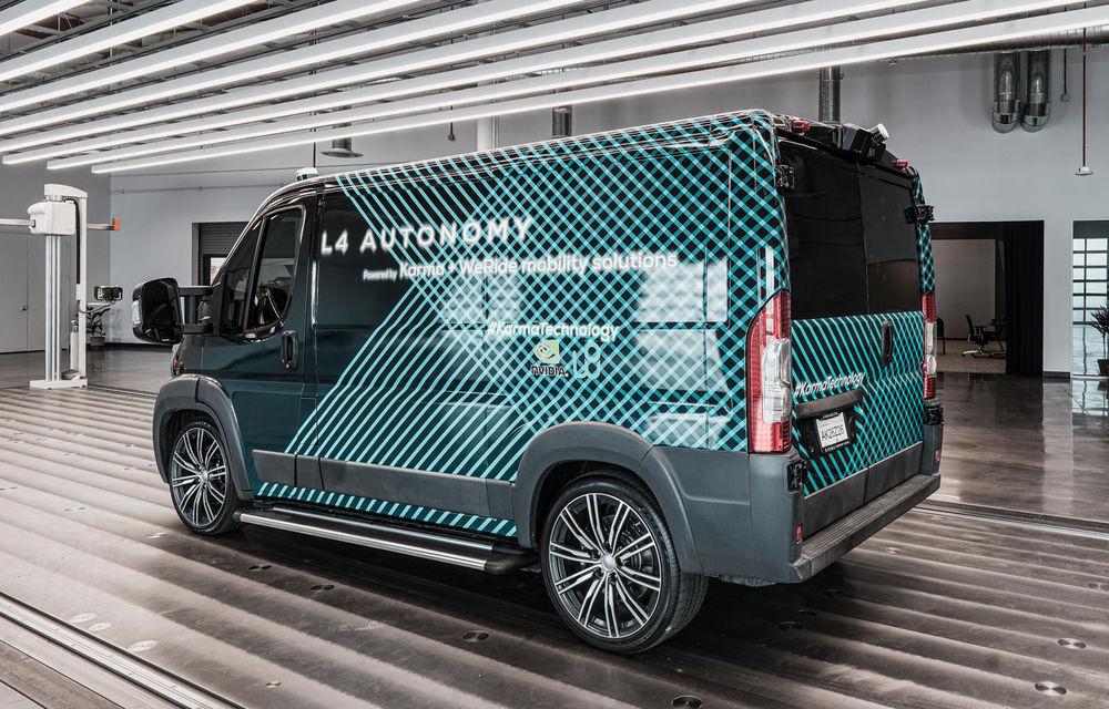 Karma prezintă prima imagine cu o utilitară electrică cu funcții autonome: modelul este bazat pe noua platformă E-Flex - Poza 1