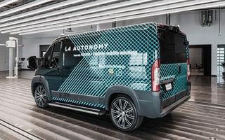 Karma prezintă prima imagine cu o utilitară electrică cu funcții autonome: modelul este bazat pe noua platformă E-Flex