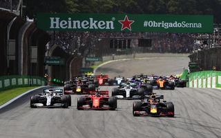 """Scenariu nou pentru sezonul 2020 al Formulei 1: """"grupuri"""" de șase curse într-un interval de șapte săptămâni începând din luna iulie"""