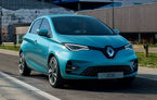 Înmatriculările de mașini electrice au crescut cu 27% în România în primele trei luni ale anului: Renault Zoe rămâne lider