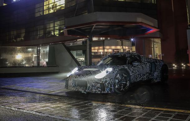 Viitorul Maserati MC20 va fi prezentat în septembrie: motorul V6 biturbo ar urma să dezvolte peste 600 CP - Poza 1