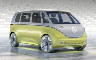 Volkswagen ID Buzz este considerat înlocuitorul indirect al lui Touran: nemții speră ca astfel să aducă un plus de culoare în segmentul monovolumelor
