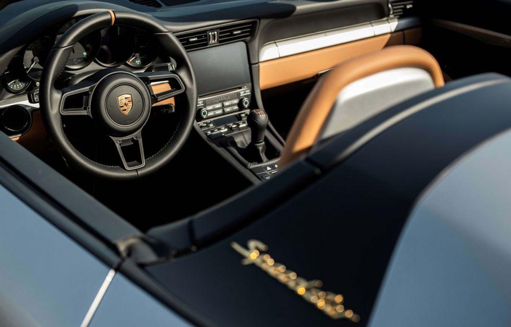 Ultimul exemplar Porsche 911 al vechii generații 991 va fi scos la licitație: banii vor fi donați în scopuri caritabile - Poza 8